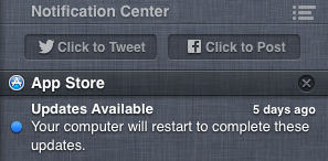 How to temporarily turn off notifications in Mac OS X