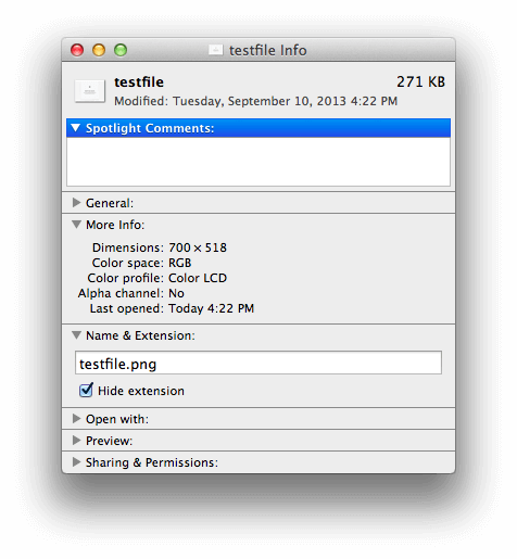 How to rename files and folders in Mac OS X