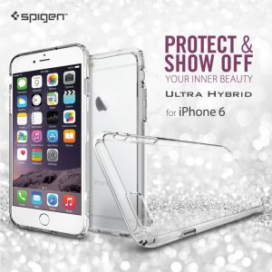 Spigen Bumper Clear Case for iPhone 6